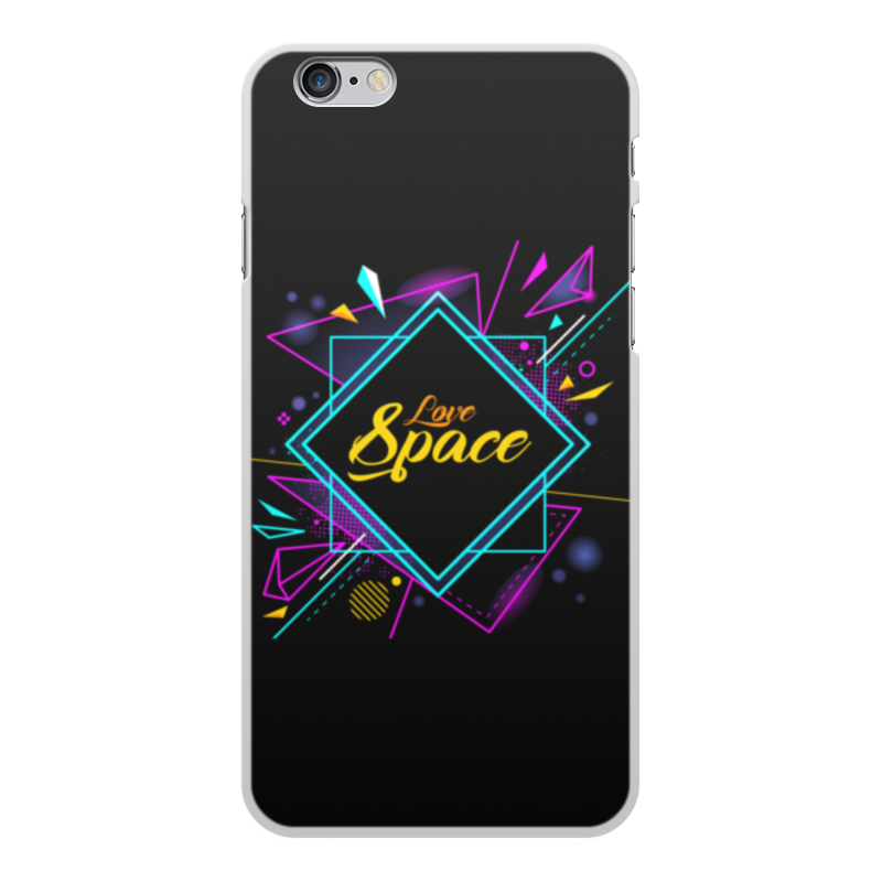 все цены на Чехол для iPhone 6 Plus, объёмная печать Printio Love space онлайн