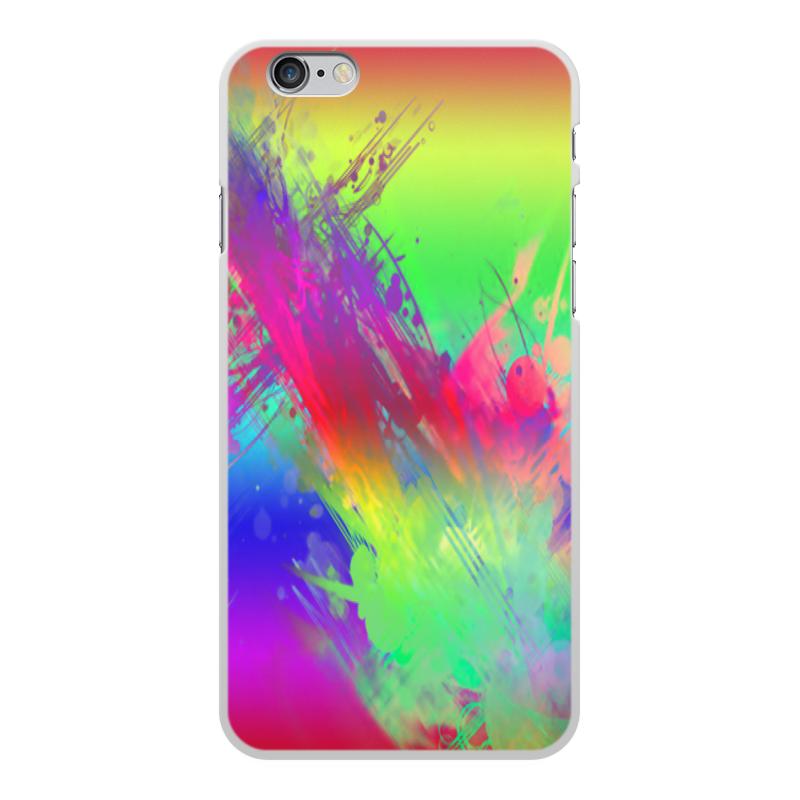 Printio Краски чехол для iphone 6 глянцевый printio яркие краски