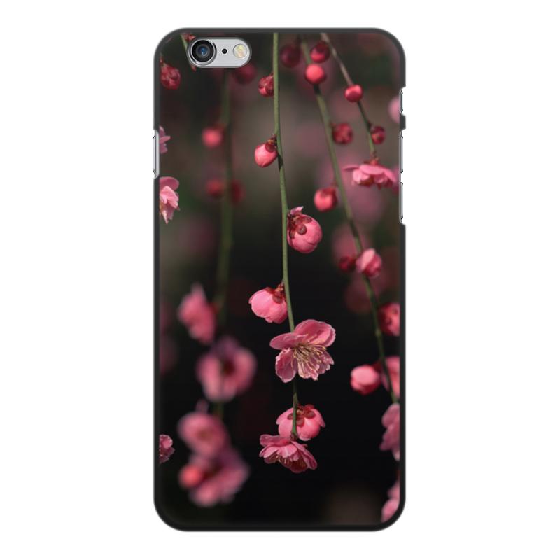 Чехол для iPhone 6 Plus, объёмная печать Printio Цветы чехол для iphone 6 глянцевый printio металлический