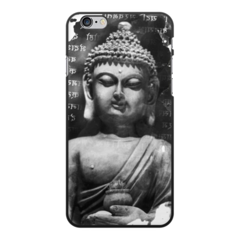 лучшая цена Чехол для iPhone 6 Plus, объёмная печать Printio Будда (письмена)