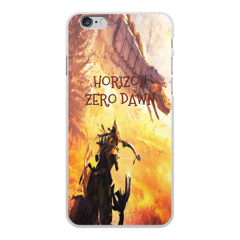 Чехол для iPhone 6 Plus, объёмная печать Printio Horizon zero dawn printio чехол для iphone 6 plus объёмная печать