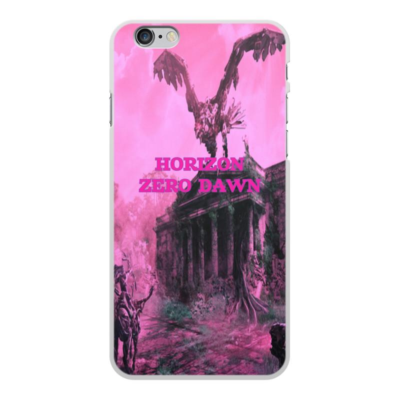 Чехол для iPhone 6 Plus, объёмная печать Printio Horizon zero dawn jyss белый iphone 77 plus