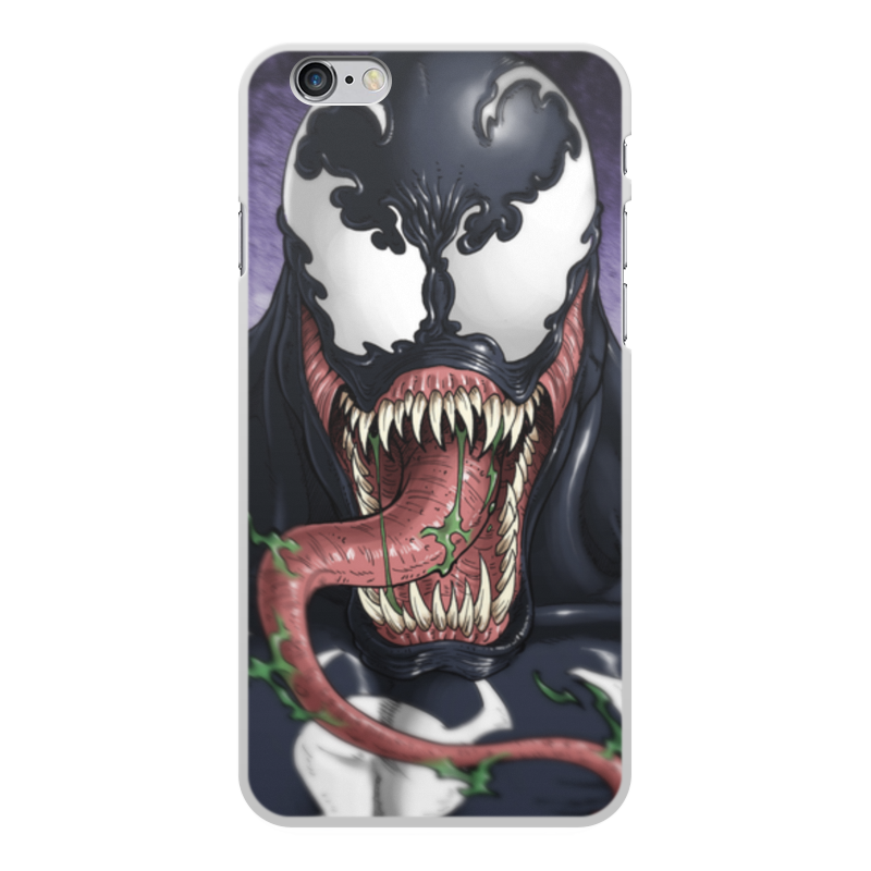 Чехол для iPhone 6 Plus, объёмная печать Printio Веном (venom) чехол для iphone 6 plus глянцевый printio япония минимализм