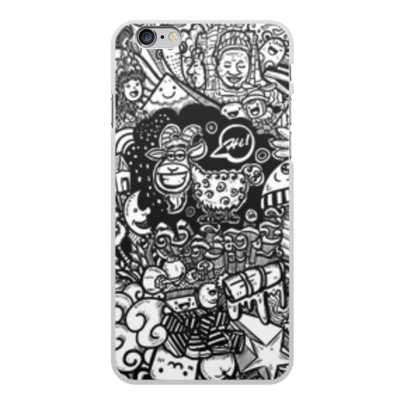 Чехол для iPhone 6 Plus, объёмная печать Printio Иллюстрация zhiyusun 68015e 020 touch screen sensor glass 164 127 6 5 inch industrial use 8line 164mm 127mm