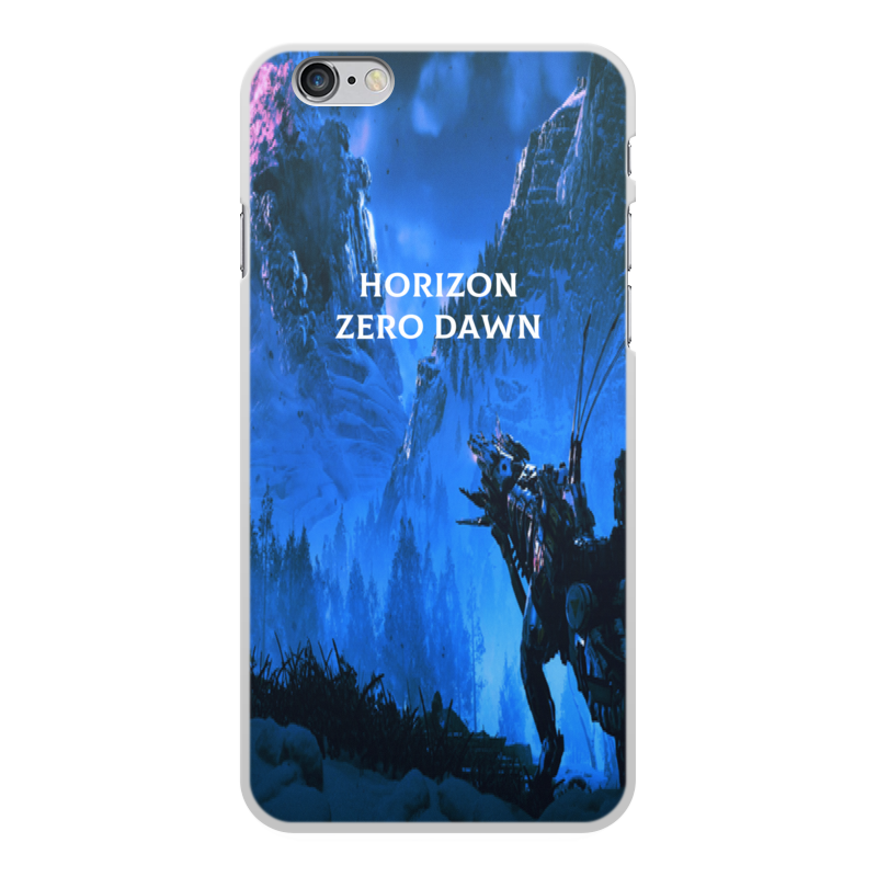 Чехол для iPhone 6 Plus, объёмная печать Printio Horizon zero dawn gumai silky case for iphone 6 6s black