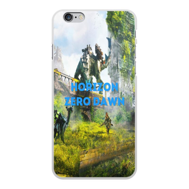 Чехол для iPhone 6 Plus, объёмная печать Printio Horizon zero dawn zhiyusun 68015e 020 touch screen sensor glass 164 127 6 5 inch industrial use 8line 164mm 127mm