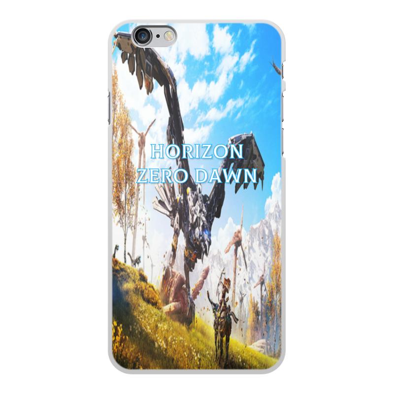 Чехол для iPhone 6 Plus, объёмная печать Printio Horizon zero dawn чехол для iphone 6 глянцевый printio двусторонний iphone 6