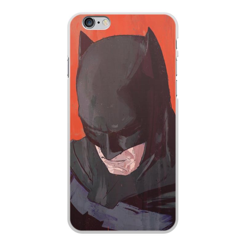 Чехол для iPhone 6 Plus, объёмная печать Printio Бэтмен