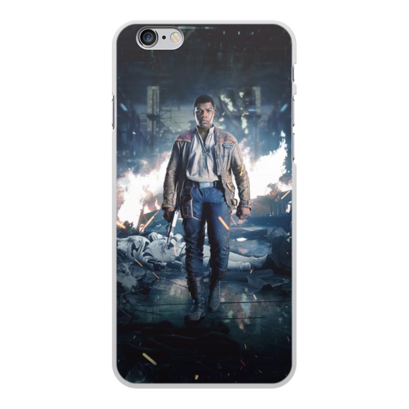 Чехол для iPhone 6 Plus, объёмная печать Printio Звездные войны - финн