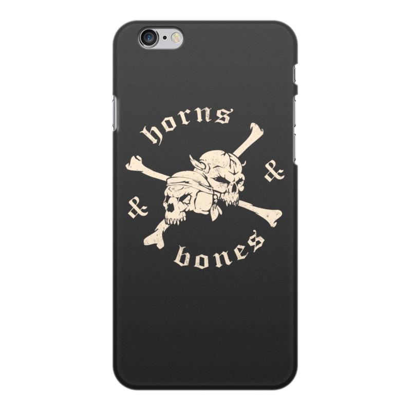 Чехол для iPhone 6 Plus, объёмная печать Printio рога и кости sebold a the lovely bones милые кости
