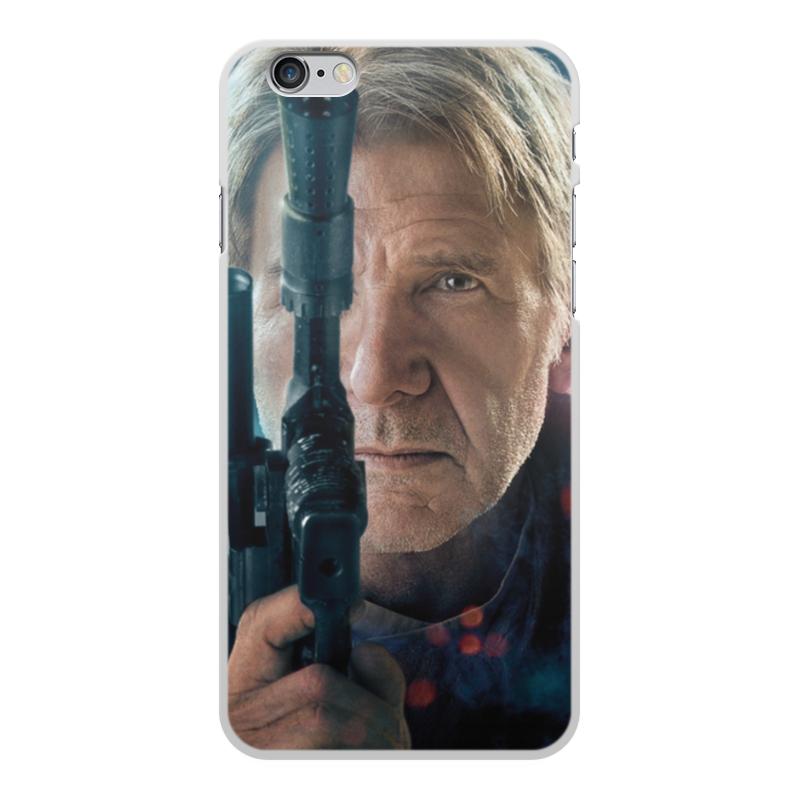 Чехол для iPhone 6 Plus, объёмная печать Printio Звездные войны - хан соло