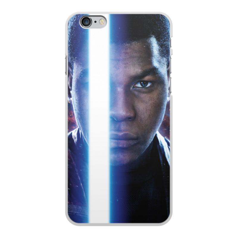 Чехол для iPhone 6 Plus, объёмная печать Printio Звездные войны - финн printio чехол для iphone 6 plus глянцевый