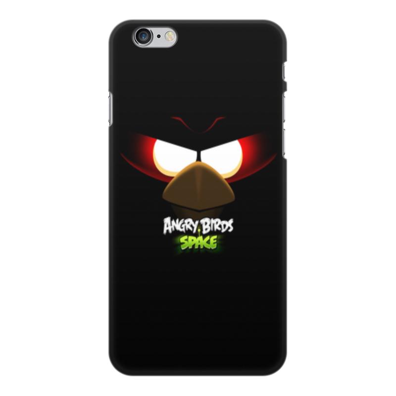 Чехол для iPhone 6 Plus, объёмная печать Printio Space (angry birds) чехол для iphone 4 4s angry birds 1 401