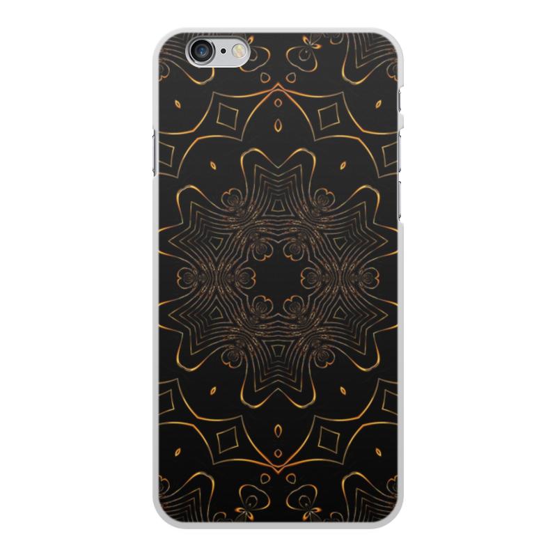 Чехол для iPhone 6 Plus, объёмная печать Printio Золотая вязь чехол для iphone 7 plus объёмная печать printio золотая роза