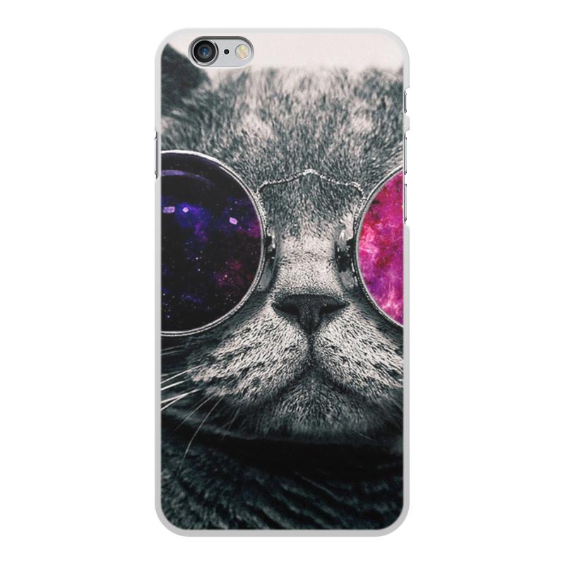 Фото - Чехол для iPhone 6 Plus, объёмная печать Printio Кот кошка чехол для iphone 5 глянцевый с полной запечаткой printio deadpool vs punisher
