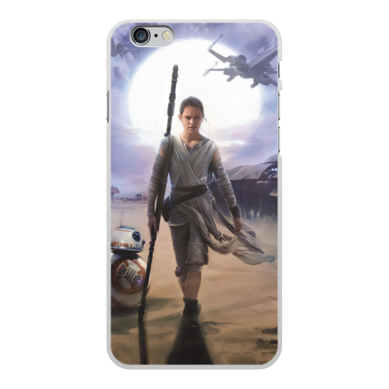 Чехол для iPhone 6 Plus, объёмная печать Printio Звездные войны - рей