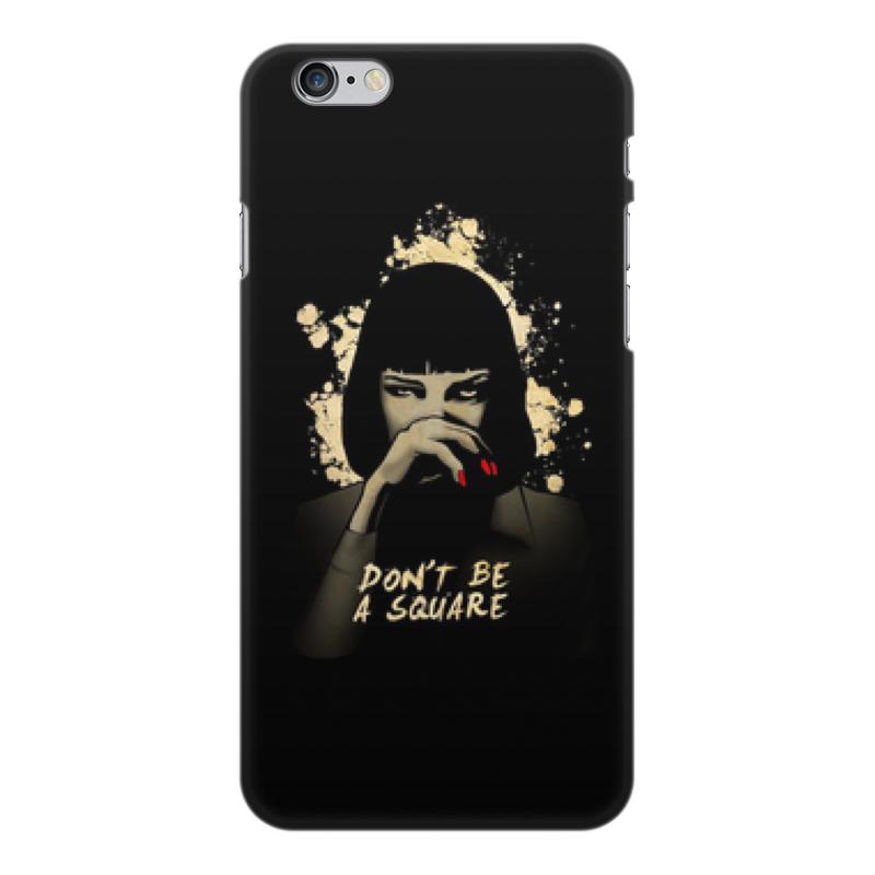 лучшая цена Чехол для iPhone 6 Plus, объёмная печать Printio Pulp fiction (ума турман)