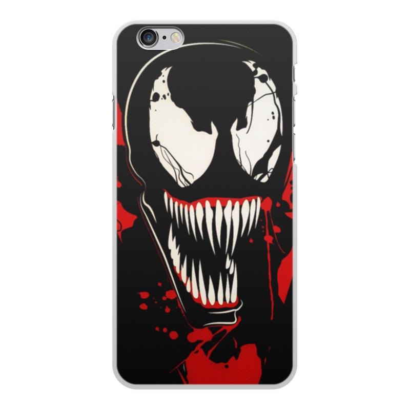 Чехол для iPhone 6 Plus, объёмная печать Printio Веном (venom)