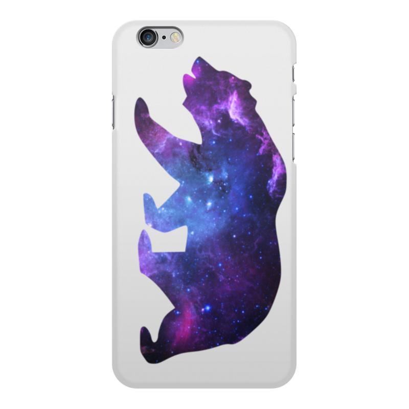 все цены на Чехол для iPhone 6 Plus, объёмная печать Printio Space animals онлайн
