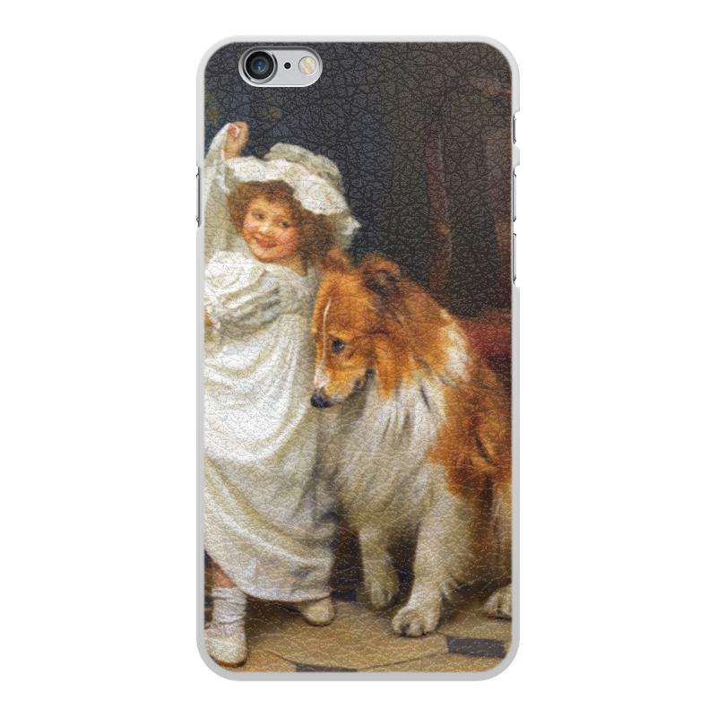 Чехол для iPhone 6 Plus, объёмная печать Printio Картина артура элсли (1860-1952) чехол для iphone 6 глянцевый printio дама в голубом картина сомова