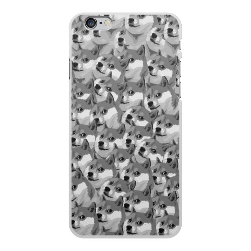 Чехол для iPhone 6 Plus, объёмная печать Printio Собачки аксессуар чехол ipapai для iphone 6 plus ассорти морской