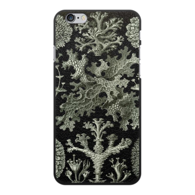 Чехол для iPhone 6 Plus, объёмная печать Printio Лишайники (lichenes, ernst haeckel) чехол для samsung galaxy s7 edge силиконовый printio лишайники lichenes ernst haeckel