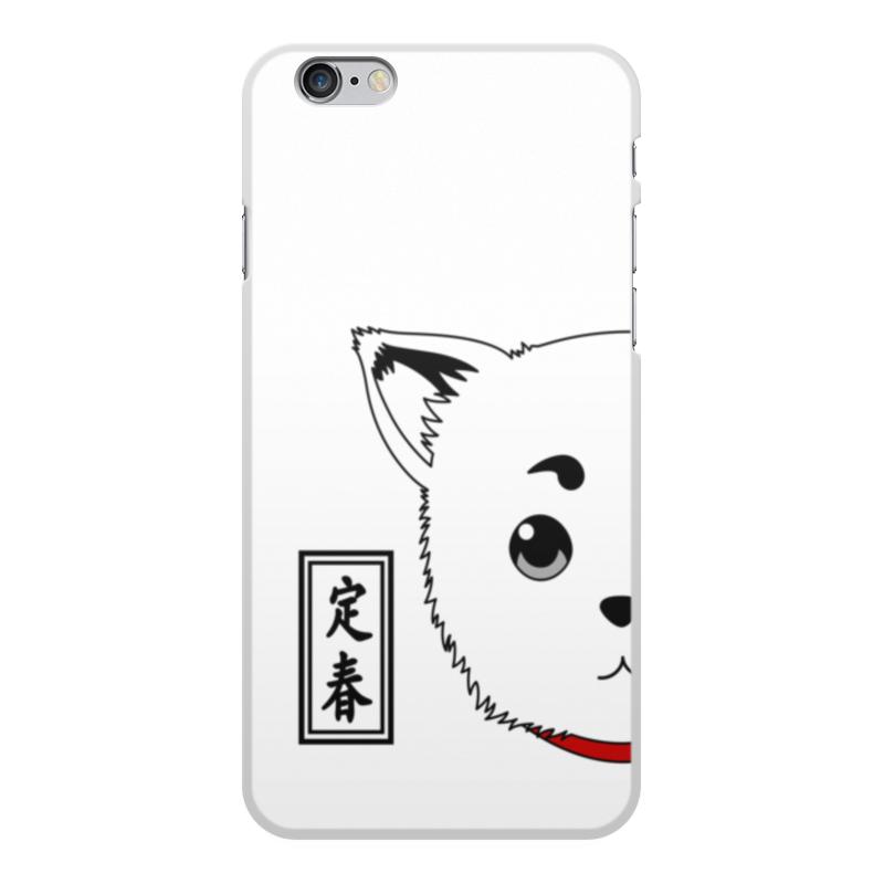 Чехол для iPhone 6 Plus, объёмная печать Printio Гинтама. садахару чехол для iphone 6 plus глянцевый printio гинтама элизабет