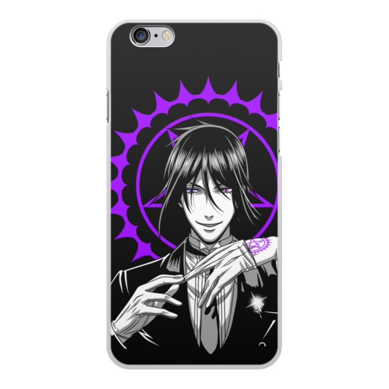Чехол для iPhone 6 Plus, объёмная печать Printio Тёмный дворецкий чехол spigen slim armor для iphone 6 plus 5 5 тёмный металлик sgp10905