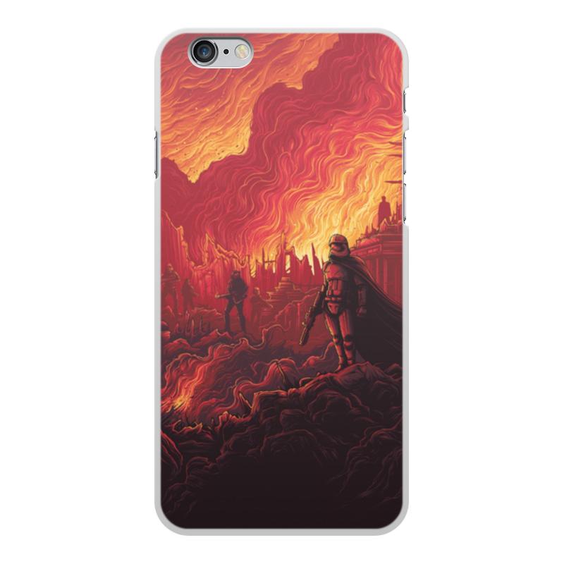 Чехол для iPhone 6 Plus, объёмная печать Printio Звездные войны чехол для iphone 6 глянцевый printio гейша