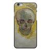 "Чехол для iPhone 6 Plus, объёмная печать ""Череп II (Винсент ван Гог)"" - картина, ван гог, живопись"