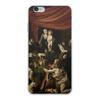 "Чехол для iPhone 6 Plus, объёмная печать ""Мадонна с чётками (Караваджо)"" - картина, живопись, караваджо"