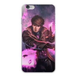 """Чехол для iPhone 6 Plus, объёмная печать """"Гамбит"""" - марвел, комиксы, gambit, comics"""