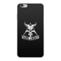 "Чехол для iPhone 6 Plus, объёмная печать ""Dark Night"" - музыка, dark night, темная ночь, since 1985, the blasters"