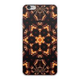 """Чехол для iPhone 6 Plus, объёмная печать """"Голос Огня"""" - огонь, подарок, абстракция, фрактал, спектр"""