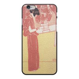 """Чехол для iPhone 6 Plus, объёмная печать """"Музыка (Густав Климт)"""" - картина, климт, живопись"""
