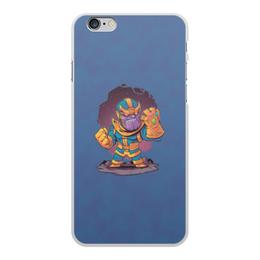 """Чехол для iPhone 6 Plus, объёмная печать """"Танос"""" - marvel, мстители, марвел, танос, война бесконечности"""
