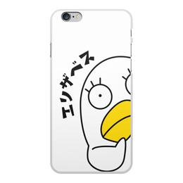 """Чехол для iPhone 6 Plus, объёмная печать """"Гинтама. Элизабет"""" - аниме, манга, элизабет, gintama, гинтама"""