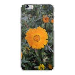 """Чехол для iPhone 6 Plus, объёмная печать """"Летние цветы"""" - лето, тепло, remember, воспоминания, memory"""