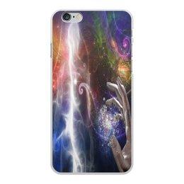 """Чехол для iPhone 6 Plus, объёмная печать """"фантастика"""" - игры, рука, космос, фантастика, мистика"""