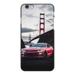 """Чехол для iPhone 6 Plus, объёмная печать """"Машина"""" - машина"""