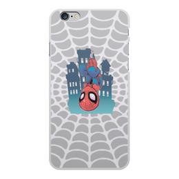 """Чехол для iPhone 6 Plus, объёмная печать """"Человек-Паук"""" - spider man, мстители, человек паук, марвел, война бесконечности"""
