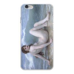 "Чехол для iPhone 6 Plus, объёмная печать ""Волна (картина Бугро)"" - картина, академизм, живопись, ню, бугро"