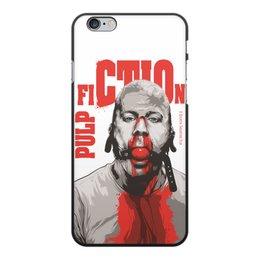 """Чехол для iPhone 6 Plus, объёмная печать """"Pulp Fiction (Брюс Уиллис)"""" - pulp fiction, культовое кино, тарантино, брюс уиллис, криминальное чтиво"""