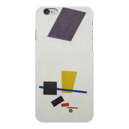 """Чехол для iPhone 6 Plus, объёмная печать """"Супрематизм. Живописный реализм футболиста"""" - футбол, картина, живопись, супрематизм, малевич"""