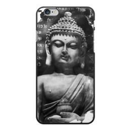 """Чехол для iPhone 6 Plus, объёмная печать """"Будда (Письмена)"""" - философия, buddha, будда, буддизм, духовность"""