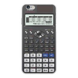 """Чехол для iPhone 6 Plus, объёмная печать """"Калькулятор инженерный"""" - case iphone, calculator"""