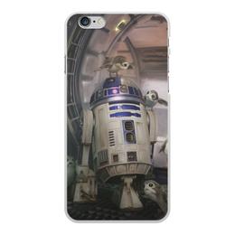"""Чехол для iPhone 6 Plus, объёмная печать """"Звездные войны - R2-D2"""" - кино, фантастика, star wars, звездные войны, дарт вейдер"""