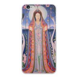 """Чехол для iPhone 6 Plus, объёмная печать """"Дева (картина Джозефа Стеллы)"""" - картина, живопись, футуризм, абстракционизм, стелла"""
