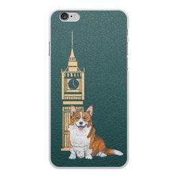 """Чехол для iPhone 6 Plus, объёмная печать """"Моя любимая собака"""" - животные, собака, корги, вельшкорги"""