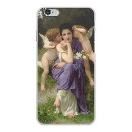 "Чехол для iPhone 6 Plus, объёмная печать ""Песни весны (картина Вильяма Бугро)"" - картина, академизм, живопись, мифология, бугро"